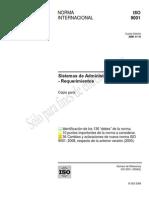 Norma ISO 9001 2008 APLICACION Espanol Noviembre 15, 2008