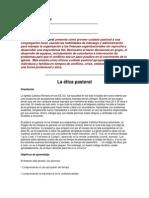 Administración Pastoral Parte 35
