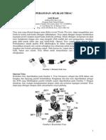 Operasi & Aplikasi Triac