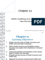 Health, Disability and Long Term Care Insurance