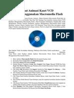 Cara Membuat Animasi Kaset VCD Berputar Menggunakan Macromedia Flash