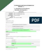 Evaluaciones Corregidas de Metodos Deterministicos Unidades 1-2