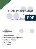 El Grupo Operativo