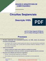 Circuitos Sequenciais Com VHDL
