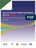Vers un nouveau modèle économique pour la Tunisie - Contraintes majeures à une croissance