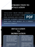 Devaluation- Case Study