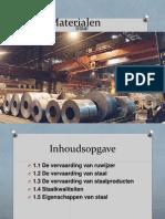 powerpoint ijzer en staal  materialen