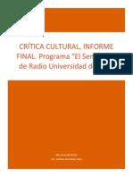 Crítica de Radio