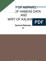 Amparo, Data, Kalikasan