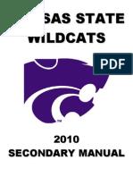 121401921 2010 Kansas State University Secondary Manual