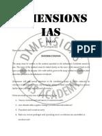 Essay topics for IAS main examination 2013