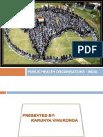 Publichealthorganisations India