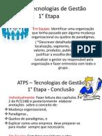 _ATPS-1 - Tecnologia de Gestão