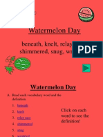 14 Watermelon Day