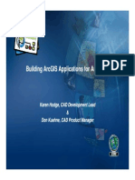 Building Arcgis Applications for Autocad