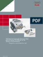Audi Common Rail Motor V8 TDI 3.3 Ltr