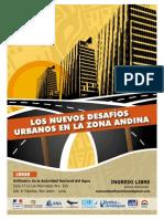 """ANA y Embajada de Francia organizan Seminario """"Los nuevos desafíos urbanos en la zona andina"""""""