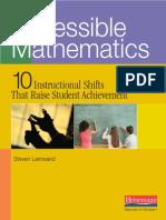 Accessible Math