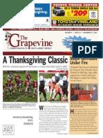 The Grapevine, November 27, 2013