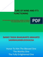 The Anatomy and Mind's Functioning According to the Abhidhamma and the Suttas