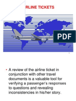 6. Airline Tickets