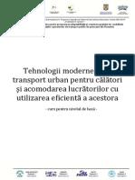 Curs 5 - Tehnologii Moderne Pentru Transport Urban