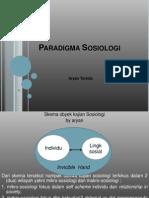 Kuliah Sosiologi (3) - Paradigma Sosiologi