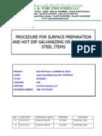 Sample Galvanizing Procedure +ITP