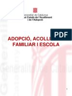 Adopcio Acolliment Familiar Escola