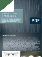 PARABOLOIDE HIPERBOLICO ppt