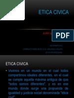 ETICA CIVICA por juan gabriel panche