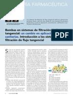 Article Bombas en Sistemas de Filtracioacuten de Flujo Tangencial Www.farmaindustrial.com