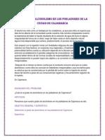 ANÁLISIS DE ALCOHOLISMO EN LOS POBLADORES DE LA CIUDAD DE CAJAMARCA (2)