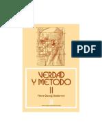 Gadamer-Verdad y Metodo II