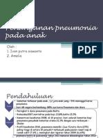 Penanganan Pneumonia Pada Anak