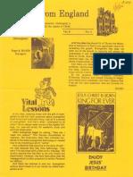 Epistles From England Team-1982-England