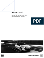 PL Megane Coupe Rs 2012