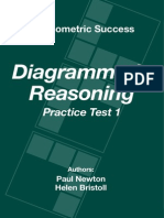 Psychometric Success Diagrammatic Reasoning - Practice Test 1