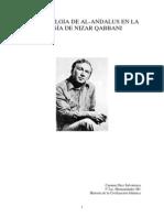 La imagen de Al-Andalus en la poesía de Nizar Qabbani, Carmen Díez