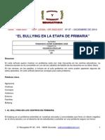 El Bullying en La Etapa Primaria