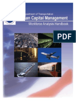 U.S. DOT Workforce Analysis Handbook 2008
