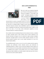 EDUCACIÓN SUPERIOR EN EL PERÚ.docx