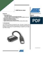 AVR4900 ASF - USB Device Stack