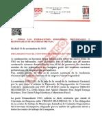Nota y SENTENCIA Impugnacion Convenio VIRIATO