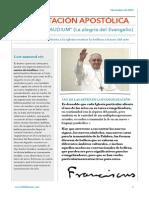 El Papa Francisco, artes y evangelización
