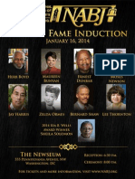 NABJ Hall of Fame - Information