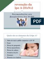 Prevencao_gripea[1] Ppt - Utentes