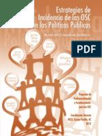 Estrategias de Incidencia de las OSC en las Politicas Públicas