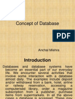 Concept of Database Managent