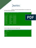 Database Practicle File